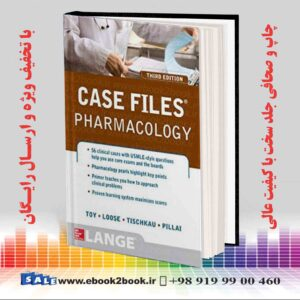 خرید کتاب Case Files Pharmacology, 3rd Edition