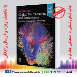 خرید کتاب Fitzgerald's Clinical Neuroanatomy and Neuroscience 8th Edition