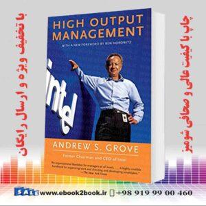 خرید کتاب تجارت و اقتصاد High Output Management 2nd edition