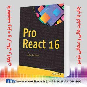 خرید کتاب کامپیوتر Pro React 16 1st ed. edition