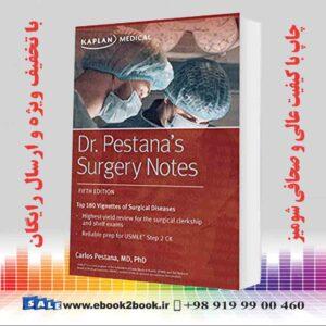 خرید کتاب پزشکی Dr. Pestana's Surgery Notes Fifth Edition
