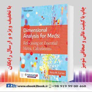 خرید کتاب پزشکی Dimensional Analysis for Meds 5th Edition