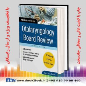 خرید کتاب پزشکی Otolaryngology Board Review 3rd Edition