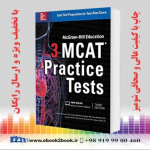 خرید کتاب McGraw-Hill Education 3 MCAT Practice Tests, 3rd Edition