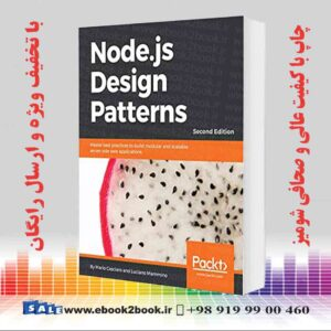 خرید کتاب کامپیوتر Node.js Design Patterns, 2nd Edition