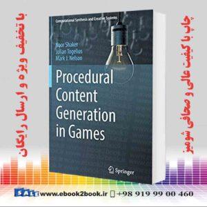 کتاب تولید محتوای رویه ای در بازی ها