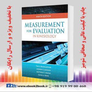 خرید کتاب Measurement for Evaluation in Kinesiology, 9th Edition