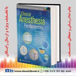 خرید کتاب Clinical Anesthesia Fundamentals