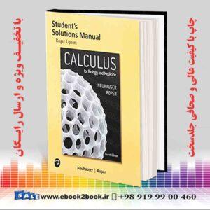 خرید کتاب Student Solutions Manual for Calculus for Biology and Medicine 4th Edition