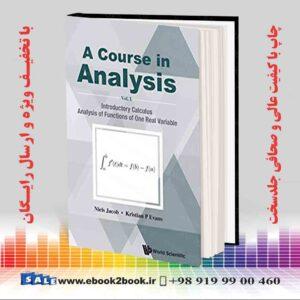 خرید کتاب A Course in Analysis: Volume I