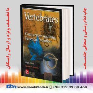 خرید کتاب Vertebrates: Comparative Anatomy, Function, Evolution 8th Edition