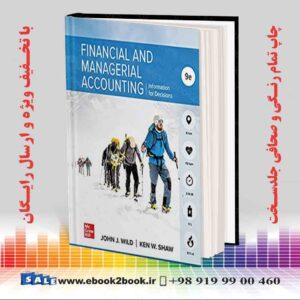 خرید کتاب Financial and Managerial Accounting, 9th Edition